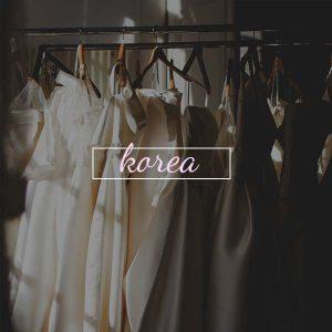 Wedding Gown in Korea