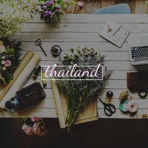 Florist in Thailand